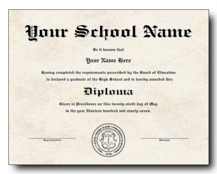 free high school diploma templates high school diploma template printable certificate