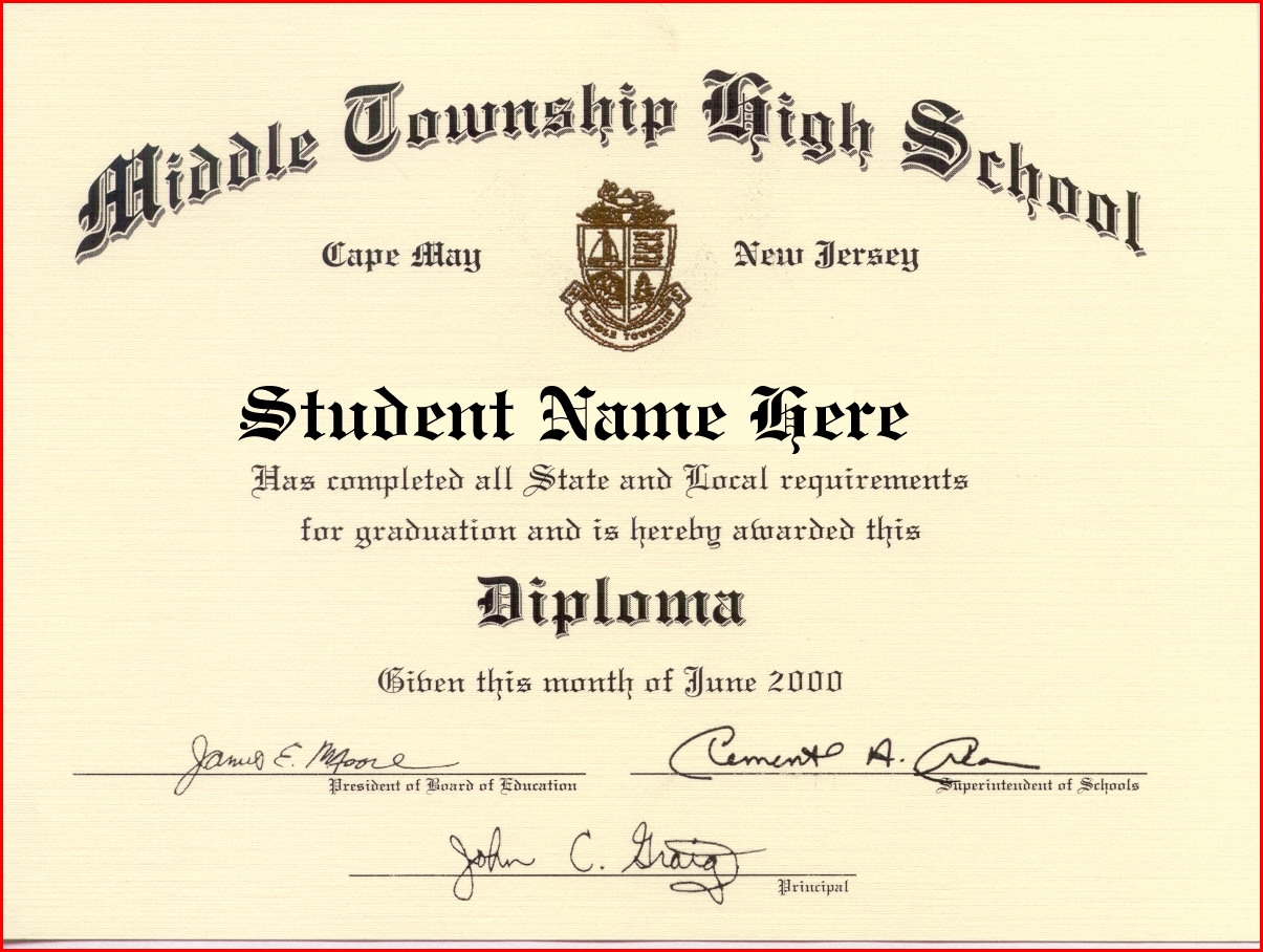 buy a fake high school diploma