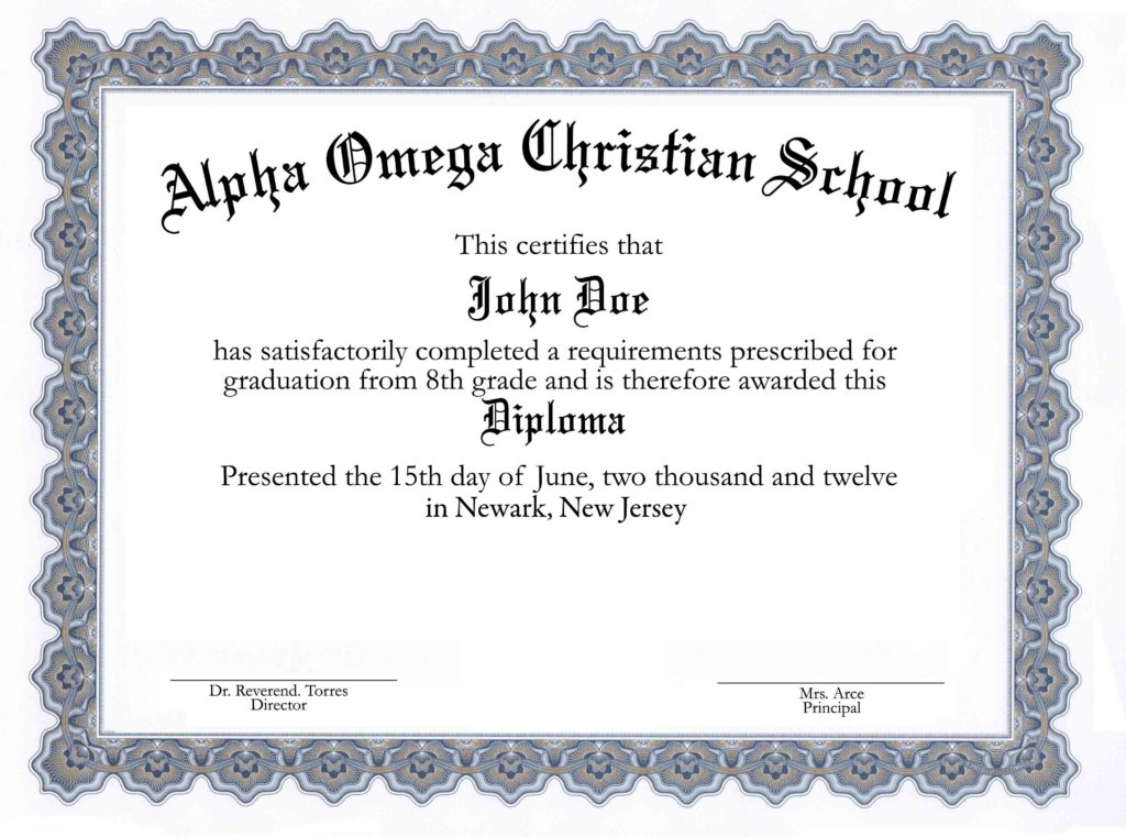 High school diploma template printable certificate for Free diploma templates