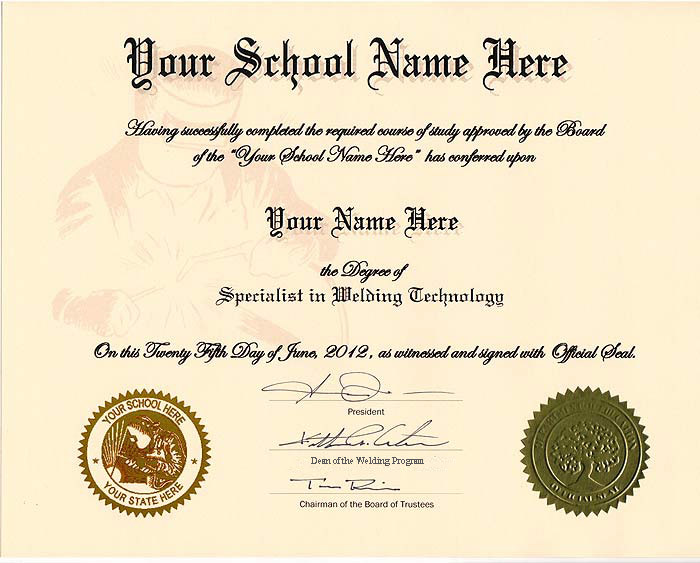 High school diploma template with seal free download for Free high school diploma templates
